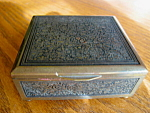 Click here to enlarge image and see more about item box706: Vintage German Brass Box