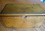 Click here to enlarge image and see more about item box807: Antique Patented Sewing Tool Box