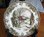 Click here to enlarge image and see more about item bread10730: Johnson Bros. Four Bread Plates