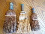 Click here to enlarge image and see more about item brush50718: Vintage Whisk Brooms