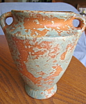 Click here to enlarge image and see more about item burley70807: Vintage Burley Winter Pottery Vase