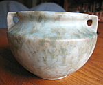 Click to view larger image of Vintage Burley Winter Mottled Glaze Vase (Image1)
