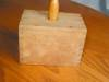Click to view larger image of Primitive Wooden Butter Mold (Image3)