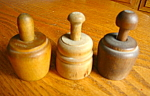 Click to view larger image of Vintage German Miniature Butter Molds (Image1)