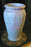 Click here to enlarge image and see more about item bw110208: Burley Winter Antique Floor Vase