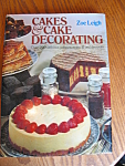 Click here to enlarge image and see more about item cakes10714: Vintage Zoe Leigh's Cake Decorating Book