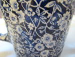 Click to view larger image of Vintage Staffordshire Calico Pitcher (Image4)