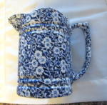 Click to view larger image of Vintage Staffordshire Calico Pitcher (Image5)