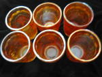 Click to view larger image of Imperial Carnival Glass Tumblers (Image3)