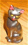 Click here to enlarge image and see more about item cat06061: Miniature Black Cat