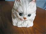 Click to view larger image of Vintage Cat Head Vase (Image1)