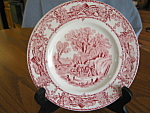 Click here to enlarge image and see more about item ccliff50612: Vintage Royal Staffordshire Bread Plates