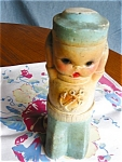 Click here to enlarge image and see more about item chalk50427: Vintage Chalkware Sailor