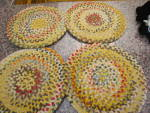 Click to view larger image of Vintage Chenille Chair Pads (Image1)