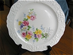Three Vintage Edwin Knowles China Dinner Plates