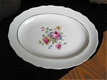 Click here to enlarge image and see more about item china60424: Vintage Canonsburg China Platter