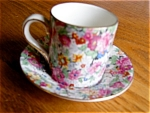 Click here to enlarge image and see more about item chintz30622: Lord Nelson Marina Chintz Demitasse