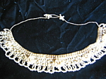 Click here to enlarge image and see more about item collar9308: Vintage Pearl Collar