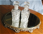 Click here to enlarge image and see more about item cologne10623a: Imperial EAPG Cologne Bottles