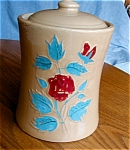 Click here to enlarge image and see more about item cookie10520: Vintage McCoy Stoneware Cookie Jar