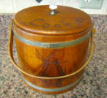 Click here to enlarge image and see more about item cookiefirkin8013: Vintage Cookie Firkin
