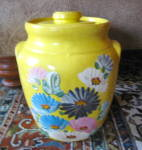 Click here to enlarge image and see more about item cookiejar020412: UHL Ransburg Cookie Jar