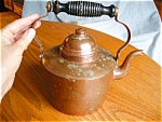 Vintage Finnish Copper Tea Kettle