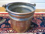 Click here to enlarge image and see more about item copperbucket1017: Antique Copper Bucket