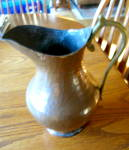 Click to view larger image of Hammered Copper Pitchers (Image3)
