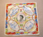 Click here to enlarge image and see more about item coronationhanky7014: Queen Elizabeth Coronation Hanky