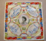 Click to view larger image of Queen Elizabeth Coronation Hanky (Image8)