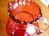 Click to view larger image of Victorian Cranberry Glass Pitcher (Image4)
