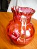 Click to view larger image of Cranberry Glass Lemonade Pitcher (Image6)