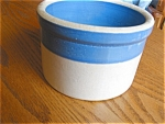 Click here to enlarge image and see more about item crock50413: Vintage Butter Crock