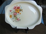 Click here to enlarge image and see more about item crooks20405: Vintage Crooksvilla China Platter