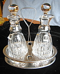 Click to view larger image of Miller Rogaska Cruet Set (Image1)