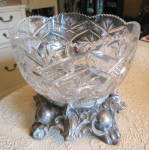 Click to view larger image of Cut Crystal Bowl (Image7)