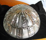 Click here to enlarge image and see more about item crystalbowl060710: Large Elegant Glass Bowl