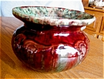 Click here to enlarge image and see more about item cuspidor20617: Art Pottery Cuspidor Vintage