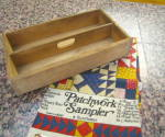 Antique Cutlery Box & Linen