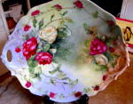 Click here to enlarge image and see more about item dclimoges0715: D&C Limoges Hand Painted Tray