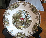 Click here to enlarge image and see more about item desserts10730: Johnson Bros. Friendly Village Dessert Bowl