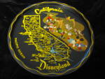 Click here to enlarge image and see more about item disneytin120210: Disneyland Tray