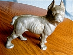 Click here to enlarge image and see more about item dog110510: Vintage Cast Aluminum Boston Terrior