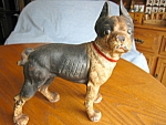 Click here to enlarge image and see more about item dog20827: Antique Boston Terrior Doorstop