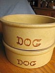 Click here to enlarge image and see more about item dogbowls30826: Robinson Ransbottom Dog Bowls