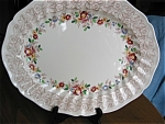 Click here to enlarge image and see more about item doulton120525: Large Royal Doulton Rhapsody Platter