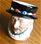 Click here to enlarge image and see more about item doulton50430: Vintage Royal Doulton Beefeaters Character Mug