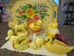 Click to view larger image of Duck Family Vintage Planter (Image8)