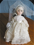 Click here to enlarge image and see more about item effanbee120509: Vintage Effanbee Caroline Bride Doll
